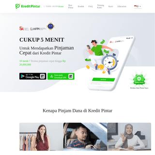 Aplikasi Instan Pinjaman Online Tunai - KreditPintar
