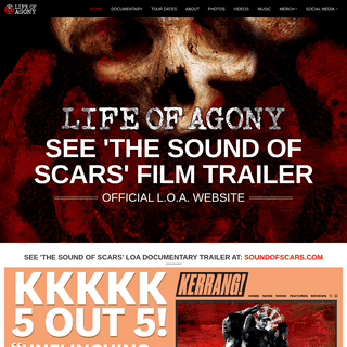 Life of Agony- Official Website
