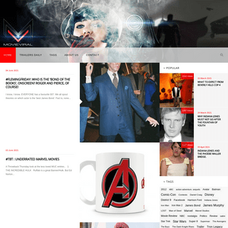 MovieViral - the home of Movies, TV Series, Sci-fi, and Superheroes-