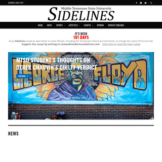 Sidelines – Middle Tennessee State University`s Digital News Source