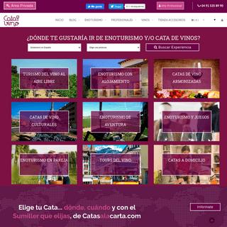 Enoturismo, visitar bodegas y comprar vino en Catadelvino.com