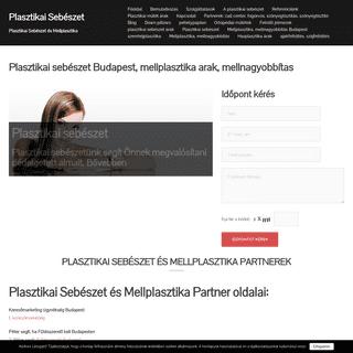 Plasztikai sebészet Budapest, mellplasztika árak, mellnagyobbítás