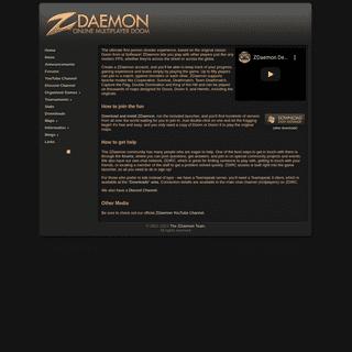 Online Multiplayer Doom - ZDaemon.org