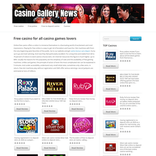 Free casino games - more than 1750+ games to play free!