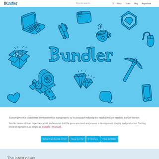 Bundler- The best way to manage a Ruby application`s gems