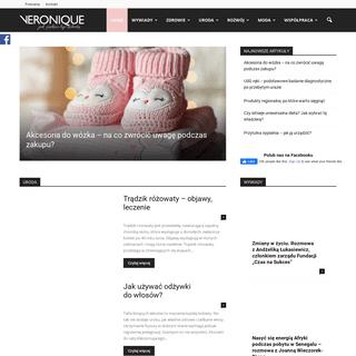 VERONIQUE - Portal dla kobiet, zdrowie, uroda, moda, kulinaria, podróże, wywiady, psychologia, mama