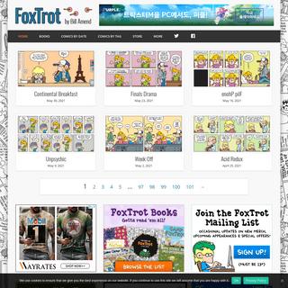 FoxTrot Comics by Bill Amend
