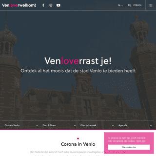VenloVerwelkomt - Ontdek wat Venlo verrassend maakt
