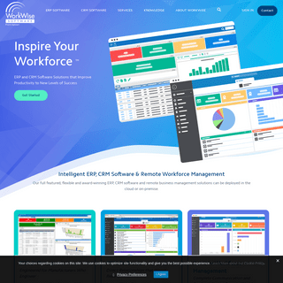 Aptean Industrial Manufacturing ERP WorkWise Edition - ERP & CRM Solutions