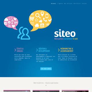 Siteo – Nous parlons couramment le web