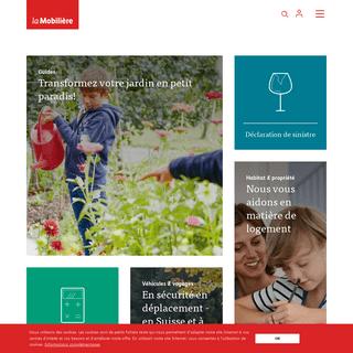 Assurances & prévoyance en Suisse - la Mobilière
