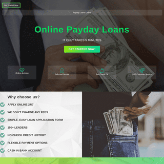 Payday Loans Online - Fastest Cash Advance. Apply now!