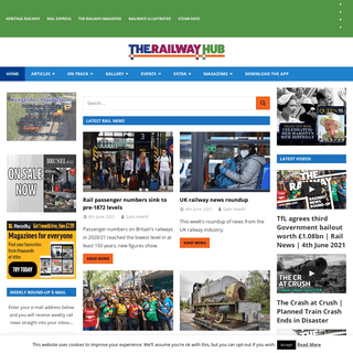 The Railway Hub - Get on track for your latest rail news and reviews