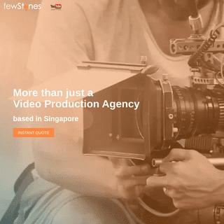 Corporate Video Production Singapore & Animation Studios - fewStones