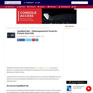 CpasBien9.Net - Téléchargement De Torrent En Français (Sans Pub)
