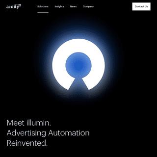 illumin Advertising Automation Reimagined - AcuityAds Inc