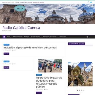 Radio Católica Cuenca – Comunicación