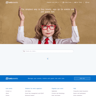 Find events · Lets.events - Lets.events