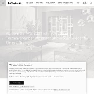 hülsta ® - Hochwertige Designmöbel made in Germany.