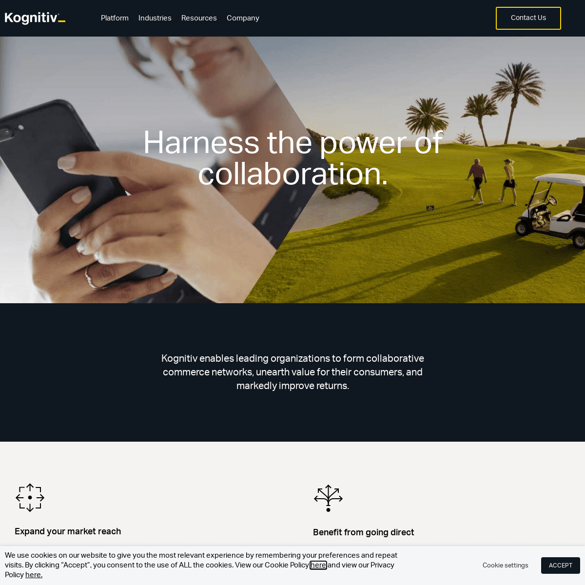 Kognitiv - Harness the power of collaboration