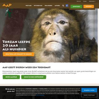 Geeft exotische zoogdieren weer een toekomst - Stichting AAP