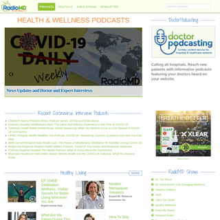 Health Podcasts, Blogs and News - RadioMD