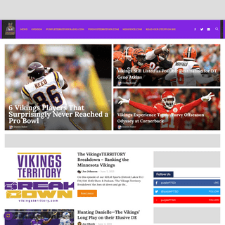 Home - purplePTSD - Local Minnesota Vikings News