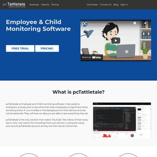 pcTattletale - Employee & Child Monitoring Software
