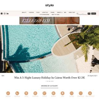 Style Magazines - Lifestyle - Fashion - Food - Beauty - News
