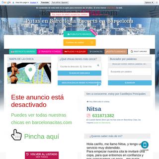 Nitsa - tel- 631871382 - Putas Barcelona citas
