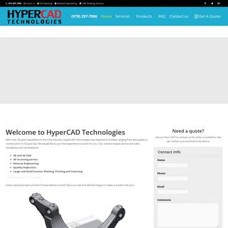 3D Scanning - Reverse Engineering - Metrology - HyperCAD