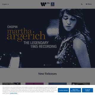 Home page - Warner Classics