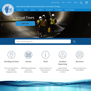 Home - Metropolitan Water Reclamation District of Greater Chicago