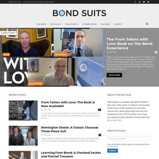 Bond Suits – How to dress like Bond and beyond