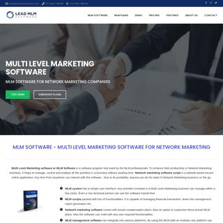 MLM software- best network marketing software program system scripts