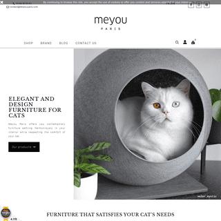Meyou Paris - Classy furnitures for discerning cats - Meyou Paris