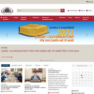 Mirësevini në faqen e Bankës së Shqipërisë