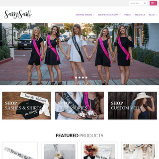 Custom Bachelorette, Birthday, Recognition Satin Sashes, Shirts, Gifts – Sassy Sash