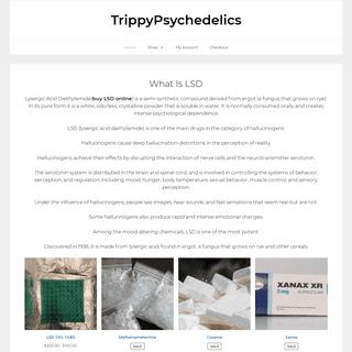 Buy LSD Online - Same Day Delivery- Safe - TrippyPsychedelics