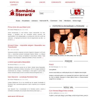 Home - Fundatia Romania Literara