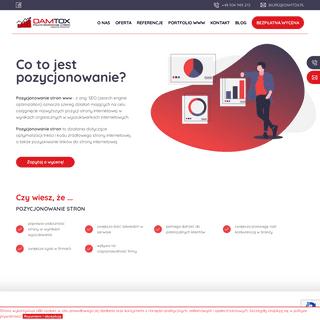 Pozycjonowanie stron www - strony internetowe Warszawa