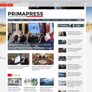 Agenzia Stampa Nazionale - PRIMAPRESS.IT