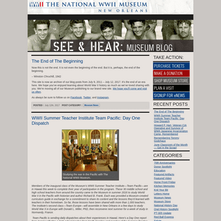The National WWII Museum Blog - News and Views from The National WWII Museum