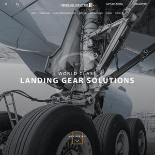 World class Landing gear solutions - Héroux Devtek