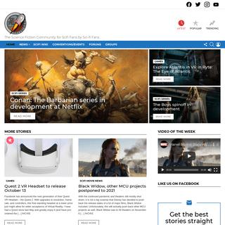 Scifispace.com Sci-Fi News, Science Fiction Community - The Science Fiction Community for Scifi Fans by Sci-fi Fans