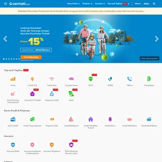 Cermati- Pinjaman, Kartu Kredit, Asuransi & Tagihan Online - Cermati.com