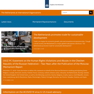 Home - The Netherlands at International Organisations