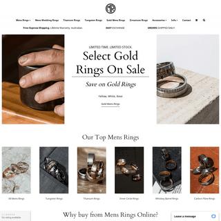 Mens Rings by Mens Rings Online