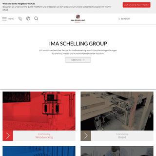 IMA Schelling Group - IMA Schelling Group GmbH
