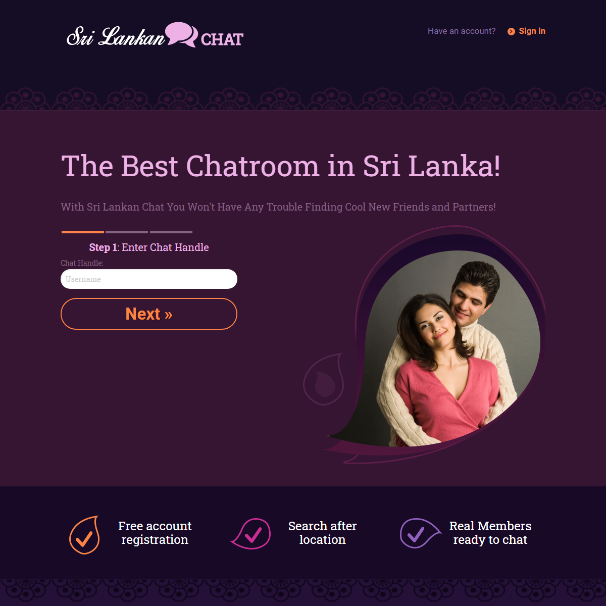 See Who Wants to Chat Now - Sri Lankan Chat